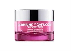Germaine De Capuccini Timexpert Rides Global Cream Wrinkles Soft – Крем легкий для коррекции морщин для нормальной и комбинированной кожи, 50 мл - фото 16287
