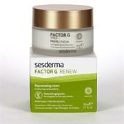 Sesderma Factor G Renew Rejuvenating Cream – Крем регенерирующий от морщин Фактор Джи, 50 мл