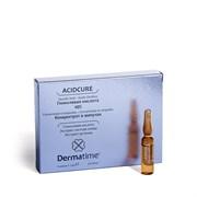Dermatime Acidcure Glycolic Acid 10% – Средство в ампулах с гликолевой кислотой 10% Дерматайм, 6 шт. по 2 мл