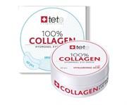 Tete Cosmeceutical 100% Collagene Hydrogel Eye Patch – Гидроколлагеновые патчи под глаза с гиалуроновой кислотой, 60 шт.
