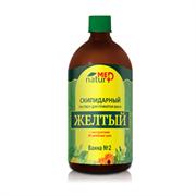 NaturMed скипидарный раствор «Желтый» для принятия ванн с экстрактами 38 трав, 1000 мл
