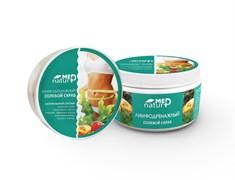 NaturMed скраб для тела солевой лимфодренажный для коррекции фигуры, 250 мл