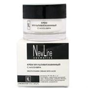New Line Крем мультивитаминный с алоэ вера, 50 мл