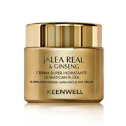 Keenwell Jalea Real and Ginseng Dia – Дневной суперувлажняющий крем, снимающий усталось, 50 мл