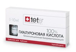 Tete Cosmeceutical Hyaluronic Acid Pure – 100% гиалуроновая кислота, 3 x 10 мл - фото 10166