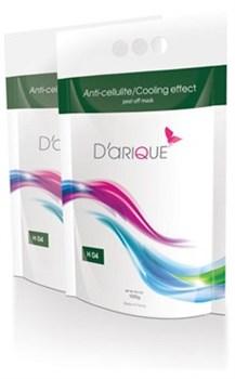 Darique Альгинатная маска антицеллюлитная для уменьшения объемов тела с охлаждающим эффектом, 500 гр - фото 10397