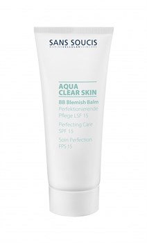 Sans Soucis Aqua Clear Skin BB Cream SPF 15 bronze – BB крем СЗФ 15 бронзовый тон, 40 мл - фото 11258