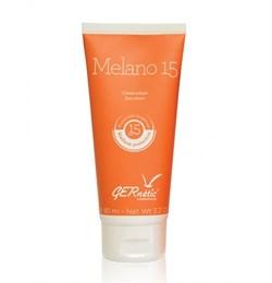 Gernetic Melano 15 – Cолнцезащитный крем для лица и тела Жернетик Мелано SPF 15, 90 мл - фото 12226