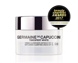 Germaine de Capuccini Timexpert White Anti-Ageing Clarifying Cream SPF 15 – Крем для коррекции пигментных пятен СЗФ 15, 50 мл - фото 12534