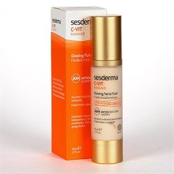 Sesderma C-Vit Radiance Glowing Facial Fluid – «Сияющий» флюид для лица С–Вит, 50 мл  - фото 12965