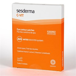 Sesderma C-Vit Eye Contour Patches – Патчи для контура вокруг глаз С–Вит, 5 шт. по 4 мл - фото 12995