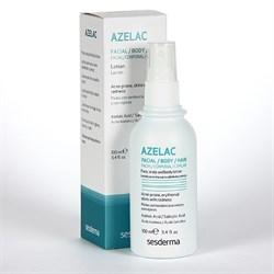 Sesderma Azelac Facial, Hair and Body Lotion – Лосьон для лица, волос и тела с азелаиновой и салициловой кислотами Азелак, 100 мл - фото 13025