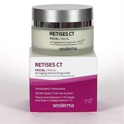 Sesderma Retises CT Anti-aging Moisturizing Cream – Крем увлажняющий омолаживающий с тиоктовой кислотой Ретисес СТ, 50 мл - фото 13159