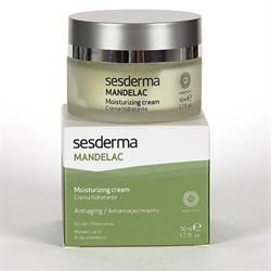Sesderma Mandelac Moisturizing Facial Cream – Крем увлажняющий с миндальной кислотой Манделак, 50 мл - фото 13173