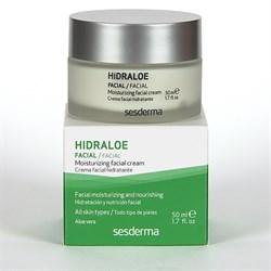 Sesderma Hidraloe Moisturizing Cream – Крем увлажняющий Гидралоэ, 50 мл - фото 13218