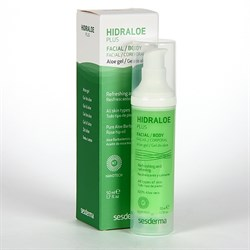 Sesderma Hidraloe Plus Facial and Body Gel – Гидралое Плюс Алоэ-гель для лица и тела, 50 мл - фото 13225
