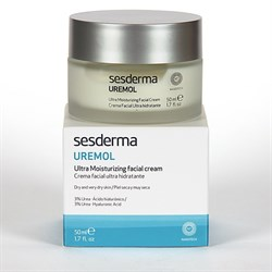 Sesderma Uremol Ultra Moisturizing Facial Cream – Крем ультраувлажняющий для лица Уремол, 50 мл - фото 13293