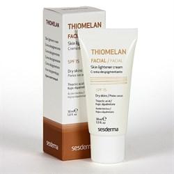 Sesderma Thiomelan Facial Skin Lightener Cream – Крем депигментирующий для лица СЗФ 15 Теомелан, 30 мл - фото 13299