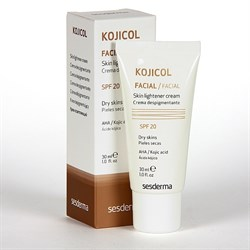 Sesderma Kojicol Skin Lightener Cream SPF 20 – Крем депигментирующий СЗФ 20 Койджикол, 30 мл - фото 13304
