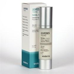 Sesderma Juveses Teens Facial Sebum Regulator pH 6.0 – Крем себорегулирующий для лица Ювисес, 50 мл - фото 13349
