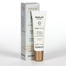 Sesderma Snailas Facial Eye Gel Renewer Antiaging – Гель обновляющий для век Снэйлас, 15 мл - фото 13490