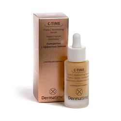 Dermatime C-Time Triple-C Illuminating Serum – Сыворотка для сияния кожи (3 формы витамина С) Дерматайм, 30 мл - фото 13568
