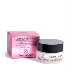 Dermatime Caviar Delight Ageless Day Cream SPF 15 – Крем омолаживающий дневной СЗФ 15 Дерматайм, 50 мл - фото 13683