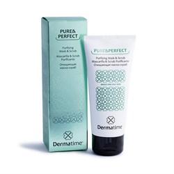 Dermatime Pure&Perfect Purifying Mask-Scrub – Маска-скраб очищающая Дерматайм, 100 мл - фото 13688