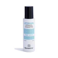 Dermatime Cotton Clean Purifying Tonic – Тоник очищающий Дерматайм, 200 мл - фото 13723