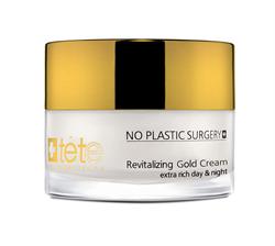 Tete Cosmeceutical Revitalizing Gold Cream Extra Rich – Крем омолаживающий с коллоидным золотом день/ночь, 50 мл - фото 14161