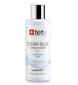 Tete Cosmeceutical Clear Blue Toner-Lotion with Hyaluronic Acid – Тоник-лосьон с гиалуроновой кислотой, 200 мл - фото 14202