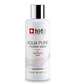 Tete Cosmeceutical Aqua Pure Micellar Water with Hyaluronic Acid – Мицеллярная вода с гиалуроновой кислотой, 200 мл - фото 14203