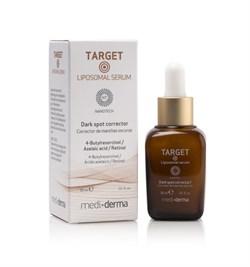 Mediderma Target Liposomal Serum – Липосомированная депигментирующая сыворотка Медидерма Таргет, 30 мл - фото 14908