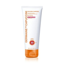 Germaine de Capuccini Golden Caresse Tan Activating Body Emulsion SPF 30 – Эмульсия активации загара для тела СЗФ 30, 200 мл - фото 15055