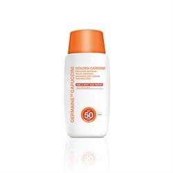 Germaine de Capuccini Golden Caresse Advanced Anti-Ageing Sun Emulsion SPF 50 – Эмульсия солнцезащитная антивозрастная усиленная СЗФ 50, 50 мл - фото 15089