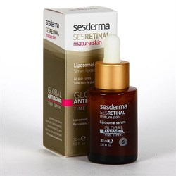 Sesderma Sesretinal Mature Skin Liposomal Serum Global Antiaging – Сыворотка липосомальная глобальный антивозраст, 30 мл - фото 15146