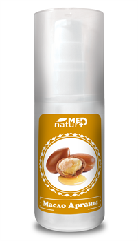 NaturMed 100 % натуральное масло Арганы, 50 мл - фото 15320