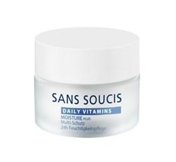 Sans Soucis Daily Vitamins Moisture Plus Multi-protection 24h Moisture Care – Крем витаминизирующий увлажняющий мультизащитный для 24-го ухода, 50 мл - фото 15436
