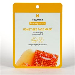 Sesderma Beauty Treats Honey Bee Facial Mask – Маска антивозрастная медовая для лица, 1 шт. - фото 15683