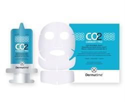 Dermatime CO2 Carboxy Pro – Набор карбокситерапии на 1 процедуру: Активный фито-гель + Кроеная маска-активатор для лица и шеи, 30 мл + 1 саше - фото 15694