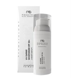 Mesaltera UV Expert Moisturizer SPF 50+ – Крем-сыворотка солнцезащитная увлажняющая для всех типов кожи с фактором защиты SPF 50+, 50 мл - фото 16021