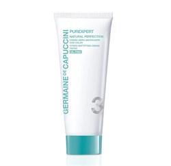 Germaine de Capuccini Purexpert Natural Perfection Cream – Крем гидроматирующий с тоном, 50 мл - фото 16122