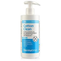 Dermatime Cotton Clean Foamy Cleansing Gel – Гель пенящийся для умывания Дерматайм, 400 мл - фото 16413