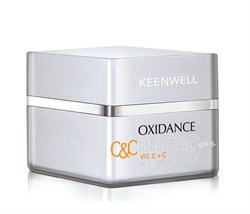 Keenwell Oxidance C&C Antioxidant Cream Global Protection SPF 15 – Антиоксидантный защитный крем глобал СЗФ 15 с витамином С, 50 мл - фото 16448