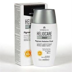 Cantabria Labs (IFC) Heliocare 360 Pigment Solution Sunscreen SPF 50+ – Солнцезащитный флюид от пигментации СЗФ 50+, 50 мл - фото 16507