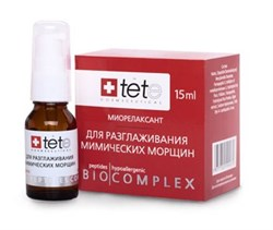 Tete Cosmeceutical Биокомплекс-миорелаксант для разглаживания мимических морщин, 15 мл - фото 8072