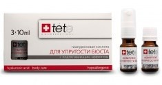 Tete Cosmeceutical Hyaluronic Acid & Neck-Decolete – Гиалуроновая кислота + комплекс для упругости бюста и зоны декольте, 3 х 10 мл - фото 8078