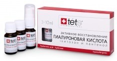 Tete Cosmeceutical Hyaluronic Acid & Hydroxan – Гиалуроновая кислота + хитозан и пантенол, 3 х 10 мл - фото 8084