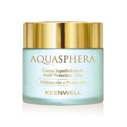 Keenwell Aquasphera Moisturizing Multi-Protective Cream-Day – Суперувлажняющий мультизащитный крем дневной Аквасфера, 80 мл - фото 8116
