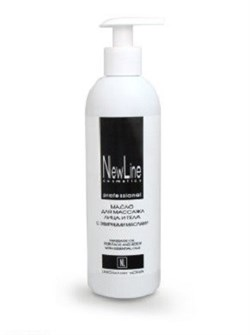 New Line Масло для массажа лица и тела с эфирными маслами и дозатором, 300 мл - фото 8140